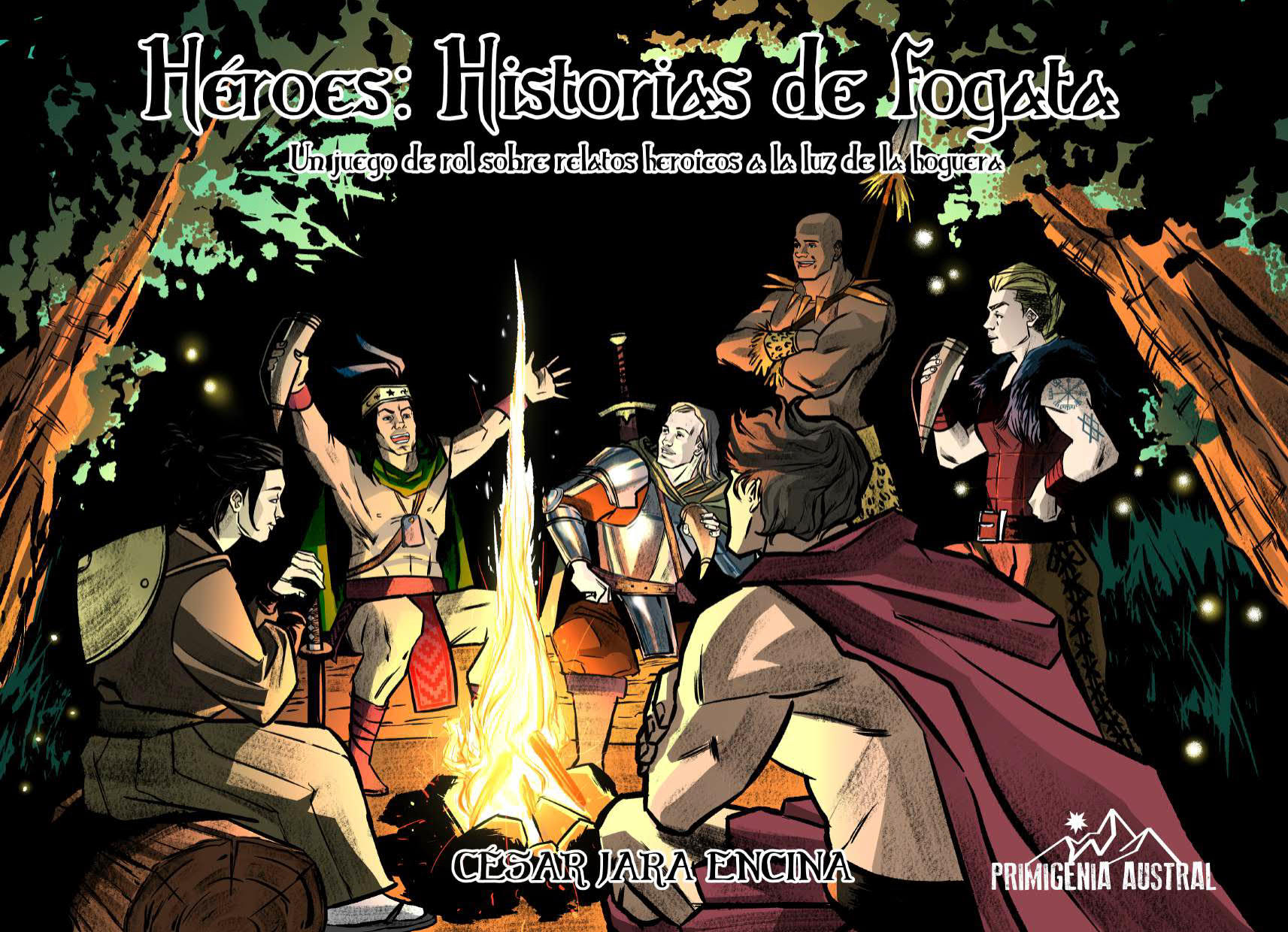 Héroes: historias de fogata